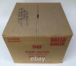 1984 85 Opc Hockey Wax Case Factory Sealed 16 Box Yzerman Rookie