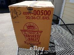 1990-91 Fleer Basketball Factory Sealed Case 20 Boxes Michael Jordan