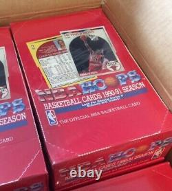 1990 Hoops Factory Sealed Series 2 Box -High Grade MICHAEL JORDAN LIKELY PSA BGS