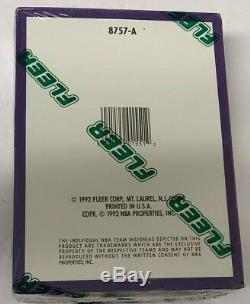 1992-93 Fleer Series 2 Hobby Basketball Box Factory Sealed 36 Pack FASC