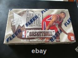 1995-96 Fleer Metal Series 2 Basketball Hobby Box Factory Sealed
