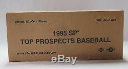 1995 Upper Deck SP Top Prospects Baseball Factory Sealed Case Box 10356