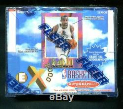 1996-97 Fleer EX 2000 Basketball Wax Box Unopened Factory Sealed KOBE RC