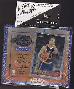 1996-97 Topps Chrome Basketball Box Factory Sealed