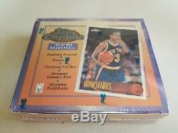 1996-97 Topps Chrome Factory Sealed Basketball Box Mint Kobe Bryant Rc Refractor