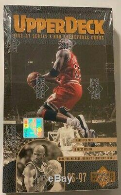 1996-97 Upper Deck Series 2 Basketball Hobby Box 24 Pack Factory Sealed