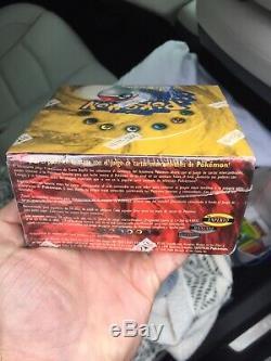 1999 Factory Sealed Pokemon SPANISH Base Set Unlimited Booster Box WOTC 36 Packs