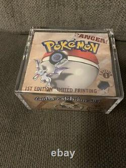 1999 Pokemon 1st Edition Fossil Booster Box Factory Sealed! BRAND NEW