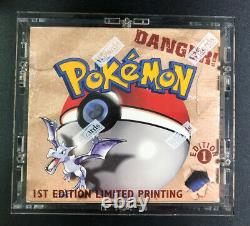 1999 Pokemon Fossil 1st Edition Booster Box Factory Sealed