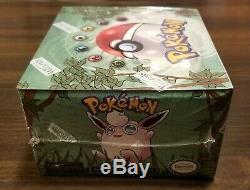 1999 WOTC Original Pokemon Jungle Booster Box Set Factory Sealed