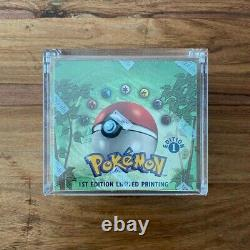 1st Edition Pokemon Jungle Booster Box 1999 WOTC Factory Sealed With Case MINT