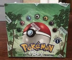 1st Edition Pokemon Jungle Booster Box, 1999 Wotc, Factory Sealed Rare