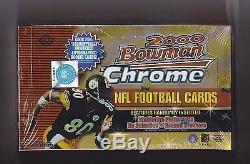 2000 BOWMAN CHROME FACTORY SEALED HOBBY BOX TOM BRADY ROOKIE HOT