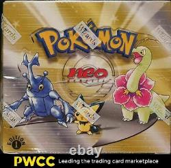 2000 Pokemon Neo Genesis 1st Edition Factory Sealed Booster Box