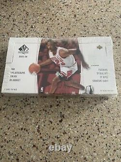 2003-04 SP AUTHENTIC BASKETBALL HOBBY BOX FACTORY SEALED Possible LEBRON