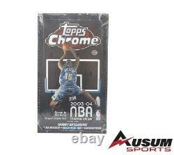 2003-04 Topps Chrome Basketball Hobby Box (factory Sealed) Lebron, Wade Rookies