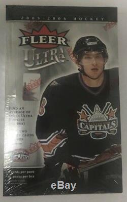 2005-06 Fleer Ultra Hockey Hobby Box Factory Sealed 24 pack