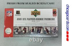 2005 Upper Deck NFL Rookie Premiere Sealed Box Set Aaron Rodgers (Gold AUTO)