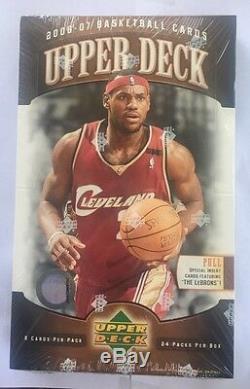 2006-07 Upper Deck Basketball Hobby Box Factory Sealed 24 Pack