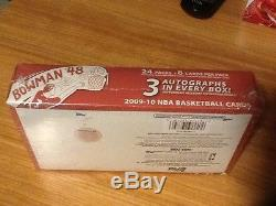 2009-10 Bowman 48 Basketball Hobby Box Factory Sealed Possible Stephen Curry RC