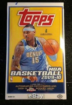 2009-10 TOPPS BASKETBALL FACTORY SEALED HOBBY WAX BOX 36 PACKS STEPHEN CURRY RCS