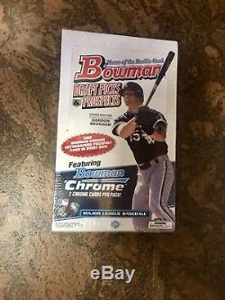 2009 Bowman Draft Picks & Prospects Factory Sealed Hobby Box
