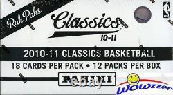 2010/11 Panini Classics Basketball HUGE Factory Sealed Jumbo Fat Box-216 Cards