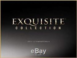 2011-12 (2012) Upper Deck Exquisite Basketball Factory Sealed Hobby Box -5 Autos