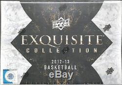 2012-13 UD Exquisite Factory Sealed Basketball Hobby Box Michael Jordan AUTO