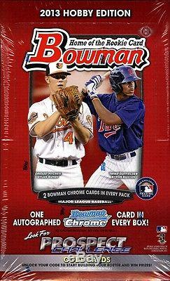 2013 Bowman Hobby 12 Box Case Factory Sealed CORREA BUXTON