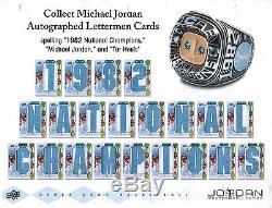 2013 Upper Deck Michael Jordan Master Collection Factory Sealed Box Set