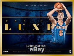 2015/16 Panini LUXE Basketball FACTORY SEALED Hobby 8 Box Case Free S&H