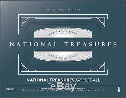 2015/16 Panini National Treasures Basketball Factory Sealed Hobby Box