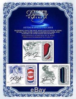 2015 Topps Dynasty Baseball Factory Sealed Hobby 5 Box Case PRESELL