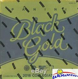 2016/17 Panini BLACK GOLD Basketball Factory Sealed HOBBY Box-4 AUTOGRAPH/MEM