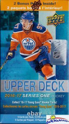 2016/17 Upper Deck Series 1 Hockey EXCLUSIVE Factory Sealed 12 Pack Blaster Box