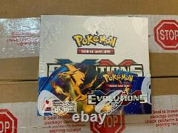 2016 Pokemon XY Evolutions Factory Sealed Booster Box GilbertGames