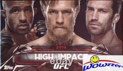 2016 Topps UFC High Impact Factory Sealed BOX-AUTOGRAPH, 2 Parallels+ Insert Card