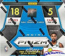 2017/18 Panini PRIZM FAST BREAK Basketball Factory Sealed Box-AUTOGRAPH+11 PRIZM