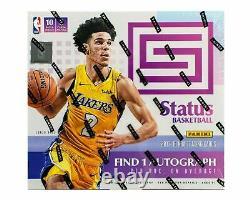 2017/18 Panini Status Basketball Factory Sealed Hobby Box