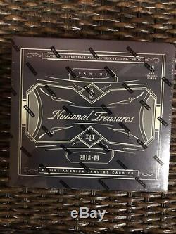2018-19 National Treasures Basketball Hobby Box Factory Sealed Holy Grail Hobby