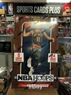 2018-19 Panini NBA Hoops Basketball Factory Sealed Hobby Box PRIORITY SHIPPING