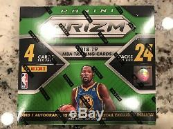2018-19 Panini Prizm Basketball Factory Sealed Retail Box