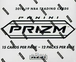 2018/19 Panini Prizm Factory Sealed 12 Pack Basketball Cello Box 48 Packs
