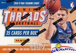 2018/19 Panini Threads Basketball Factory Sealed Blaster Box-3 Rookies Icons