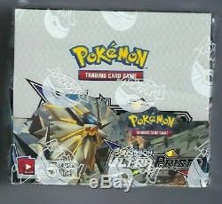 2018 Pokemon Sun & Moon Sealed Booster Box Ultra Prism Factory Sealed