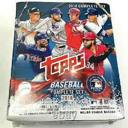 2018 Topps Baseball Card Factory Sealed Set Rookie Variant Chrome Edition