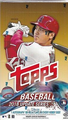 2018 Topps Update Series Hobby Box Factory Sealed with 1 Silver Pack