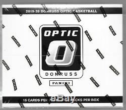2019-20 Panini DONRUSS OPTIC BASKETBALL MULTI-PACK FACTORY SEALED CELLO BOX