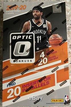2019/20 Panini Donruss Optic Nba Basketball Factory Sealed Retail Box 20 Packs